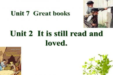 《It is still read and loved》Great books PPT课件2