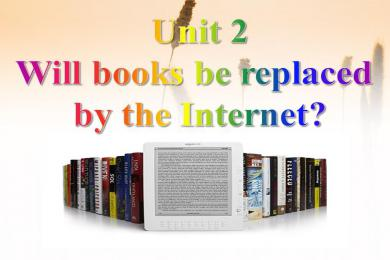 2《Will books be replaced by the Internet?》Great inventions PPT课件2
