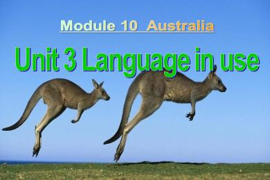 《Language in use》Australia PPT课件2