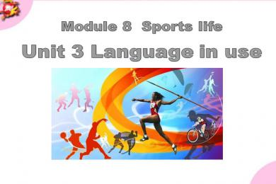 《Language in use》Sports life PPT课件(1)