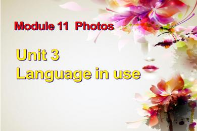 《Language in use》Photos PPT课件