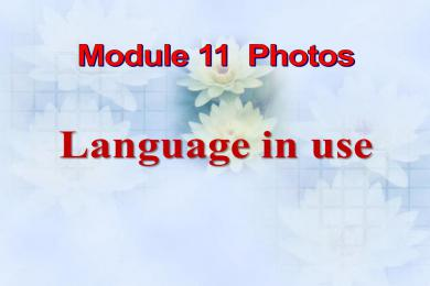 《Language in use》Photos PPT课件2