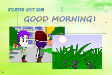 《Good morning!》StarterUnit1PPT课件