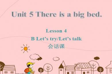 《There is a big bed》PPT课件13