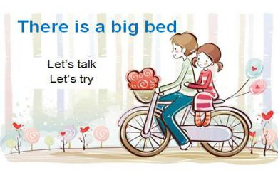 《There is a big bed》PPT课件12
